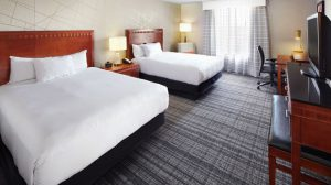 DoubleTree by the Hilton Dallas Near the Galleria double bed room