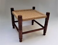 photo of class #106 Mexican knot stool
