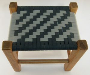 photo of class #201 2 x 2 Twill footstool