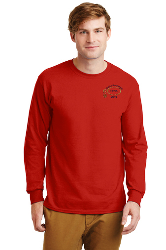 image of 2019 Dallas Round Up TBWA Long Sleeve T-with Logo